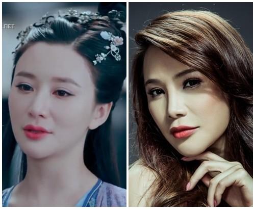 Bất ngờ với nữ diễn viên Trung Quốc giống hệt Hồ Quỳnh Hương - 2
