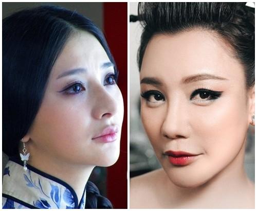 Bất ngờ với nữ diễn viên Trung Quốc giống hệt Hồ Quỳnh Hương - 4