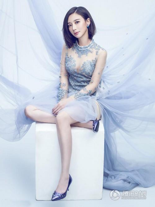 Bất ngờ với nữ diễn viên Trung Quốc giống hệt Hồ Quỳnh Hương - 10