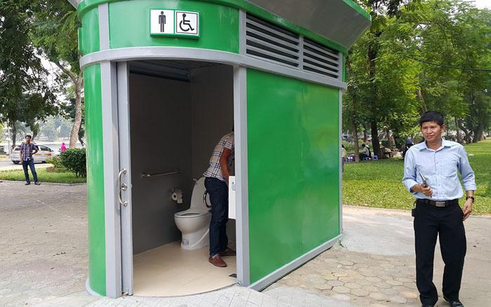 1.000 nhà vệ sinh công cộng siêu sạch của HN trông ra sao? - 2