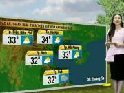Tin tức trong ngày - Dự báo thời tiết VTV 10/10: Hà Nội nắng nóng 34 độ C