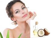 Tự chế kem dưỡng ẩm từ gel lô hội và dầu dừa