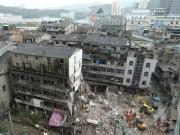 Thế giới - TQ: 4 chung cư 5 tầng bất ngờ đổ sập, nhiều người chết