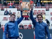 """Thể thao - Tennis 24/7: """"Kỷ lục"""" đánh đôi mới cho Nadal"""