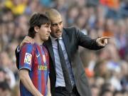 """Bóng đá - Messi """"lười"""" di chuyển dưới góc nhìn của Pep Guardiola"""