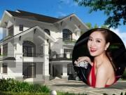Đời sống Showbiz - Choáng với 2 dinh thự tại Hà Nội và ở quê của Hoàng Thùy Linh