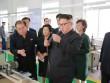Kim Jong-un trông khác lạ trong lần xuất hiện mới nhất