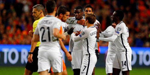 Hà Lan - Pháp: Cú ra chân 3 điểm đẳng cấp - 1