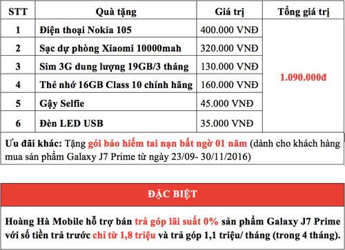 Chỉ 1.8 triệu, sở hữu siêu phẩm Galaxy J7 Prime - 6