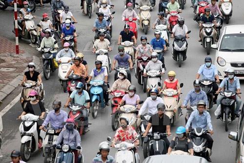 Xe điện - giải pháp hữu hiệu giảm thiểu ô nhiễm báo động ở Hà Nội - 2