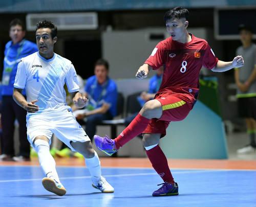 SAO futsal Việt Nam ghi siêu phẩm đẹp thứ 2 World Cup - 1