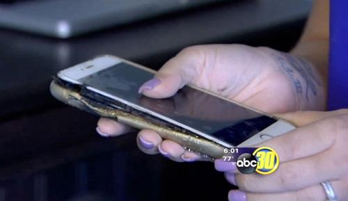 iPhone 6 Plus tiếp tục phát nổ khi đang sạc - 1