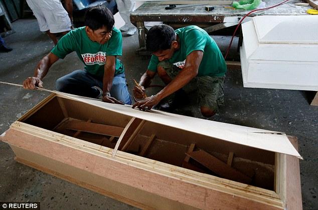 Tội phạm ma túy Philippines đóng quan tài để thoát án tử - 3