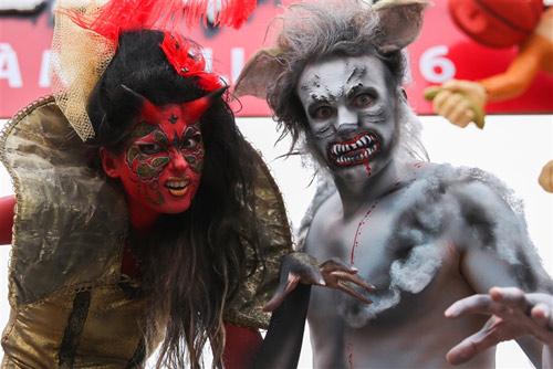 """Ấn tượng Halloween """"Lễ hội huyền bí- Bà Nà Hills 2016"""" - 3"""