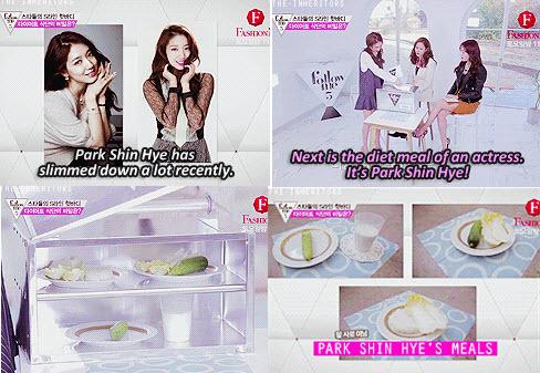 """Cách giảm cân thần tốc của """"bác sĩ"""" Park Shin Hye - 3"""