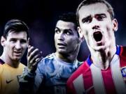 Bóng đá - Messi và Ronaldo chậm lại, Griezmann sắp bắt kịp