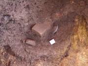 Tin tức trong ngày - Phát hiện những tảng đá nghi móng tường thành điện vua Quang Trung