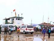 Tin tức trong ngày - Chìm tàu hàng gần đảo Cồn Cỏ, nhiều người gặp nạn