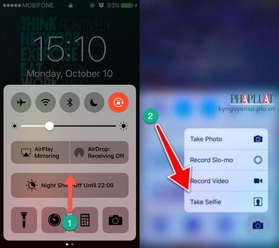 2 mẹo giúp chụp ảnh nhanh hơn trên iPhone - 2