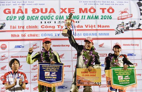 Honda Việt Nam lần đầu đưa giải đua xe đến với khán giả Bà Rịa - 4