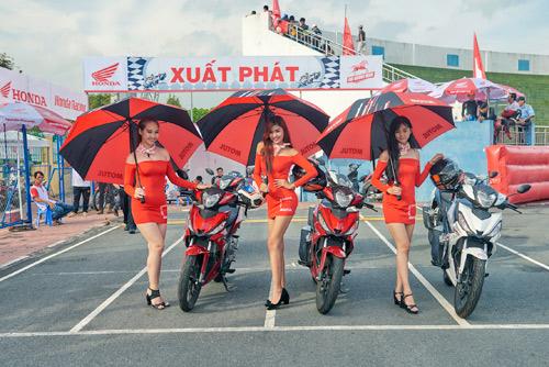 Honda Việt Nam lần đầu đưa giải đua xe đến với khán giả Bà Rịa - 2