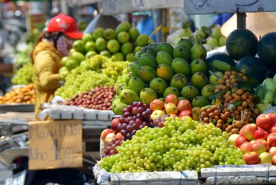Trái cây ngoại áp đảo thị trường - 1
