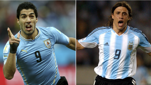 Suarez cân bằng kỉ lục của Crespo ở vòng loại World Cup - 2