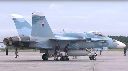 Sơn màu chiến đấu cơ giống Nga ở Syria, Mỹ âm mưu gì? - 2