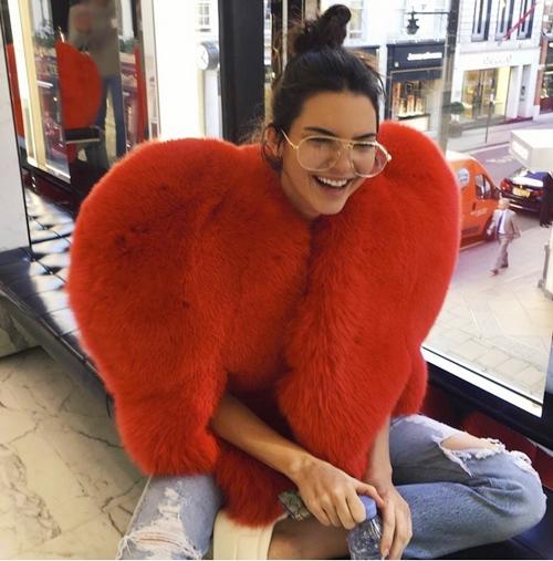 """""""Cuộc chiến"""" lông thú tim đỏ giữa Rihanna và các chân dài - 2"""