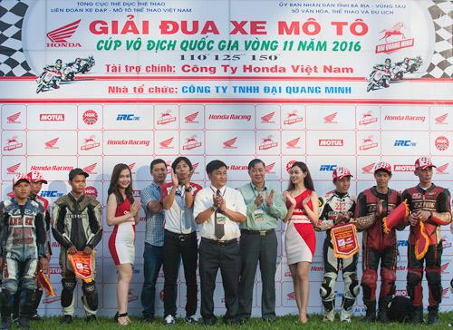Honda Việt Nam lần đầu đưa giải đua xe đến với khán giả Bà Rịa - 1