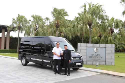 Ra mắt đội xe đưa đón tiêu chuẩn Limousine tại Hyatt Danang - 2