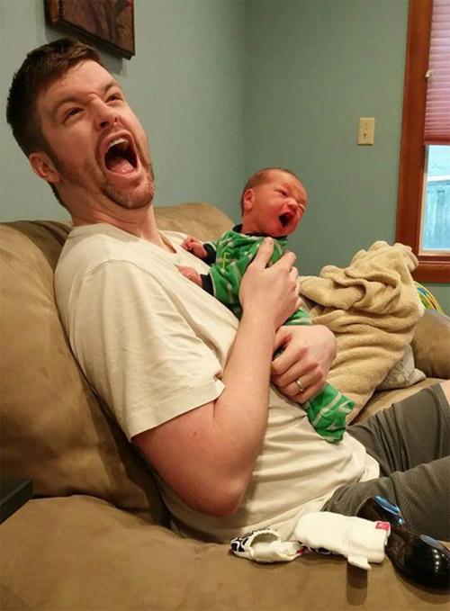 Bật cười với biểu cảm siêu đáng yêu của các bé - 6