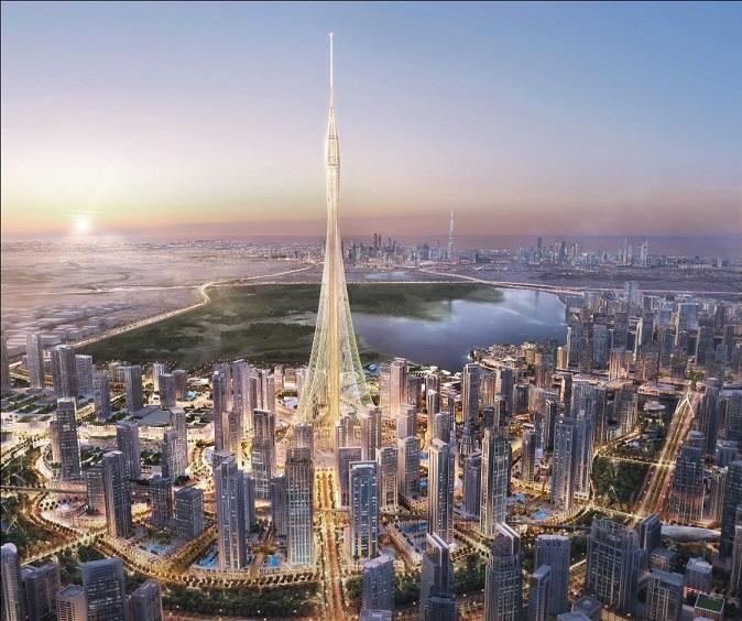 Dubai tự phá kỉ lục, tiếp tục xây tòa nhà cao nhất TG - 1