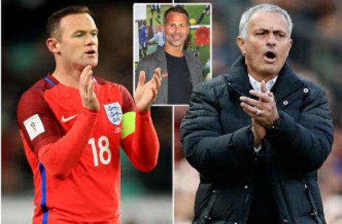 MU: Giggs chỉ trích Mourinho làm hại Rooney - 1
