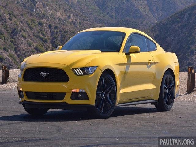 Ford Mustang tạm thời dừng sản xuất ở Mỹ - 1