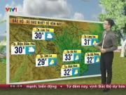 Tin tức trong ngày - Dự báo thời tiết VTV 12/10: Mưa dông diện rộng ở Nam Bộ