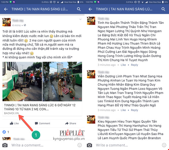 Mất tài khoản Facebook vì đọc tin tức nhảm nhí - 1