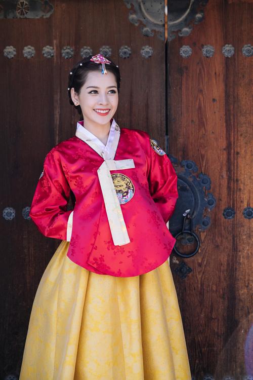 Chi Pu mặc hanbok xinh không thua á hậu Hàn Quốc - 1