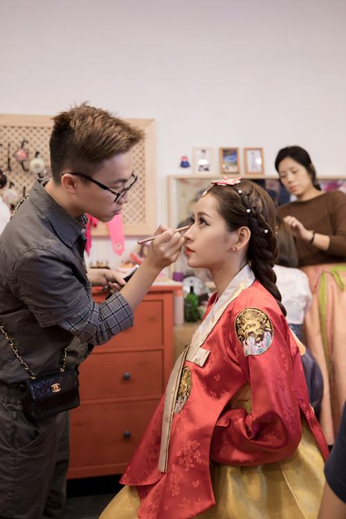 Chi Pu mặc hanbok xinh không thua á hậu Hàn Quốc - 3