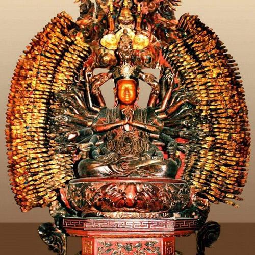 """Kỳ lạ pho tượng Phật hai lần mất trộm đều """"trở về"""" - 1"""
