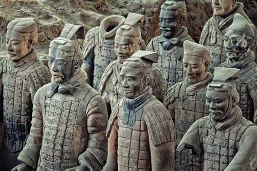 Tiết lộ chấn động về đội quân đất nung mộ Tần Thủy Hoàng - 1