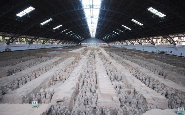 Tiết lộ chấn động về đội quân đất nung mộ Tần Thủy Hoàng - 2