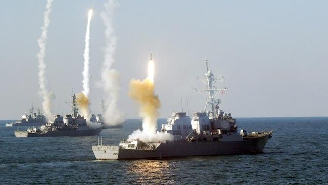 Tàu chiến bị tấn công, Mỹ dội tên lửa hành trình trả đũa - 1