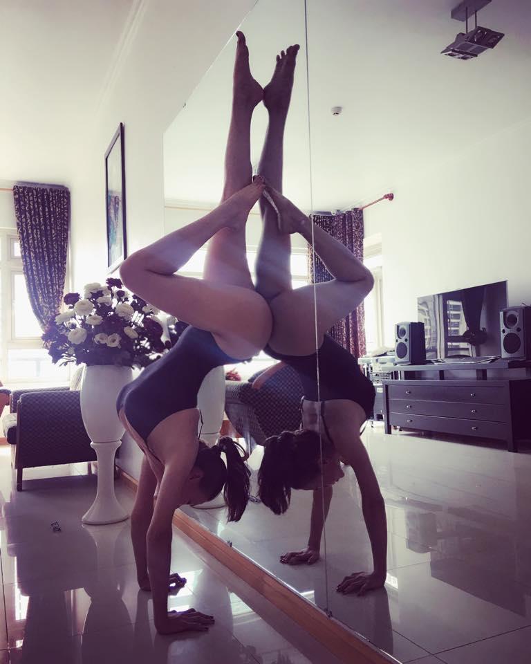 Trà Ngọc Hằng khoe dáng tập yoga sexy đến nghẹt thở - 6