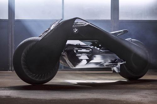 """""""Choáng"""" với BMW Motorrad Vision Next 100 tự điều khiển - 5"""
