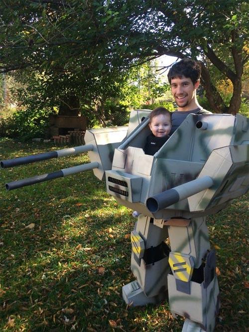 Học ông bố bà mẹ cho bé đi chơi Halloween - 6