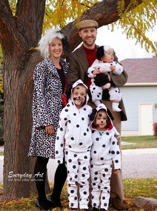 Học ông bố bà mẹ cho bé đi chơi Halloween - 15