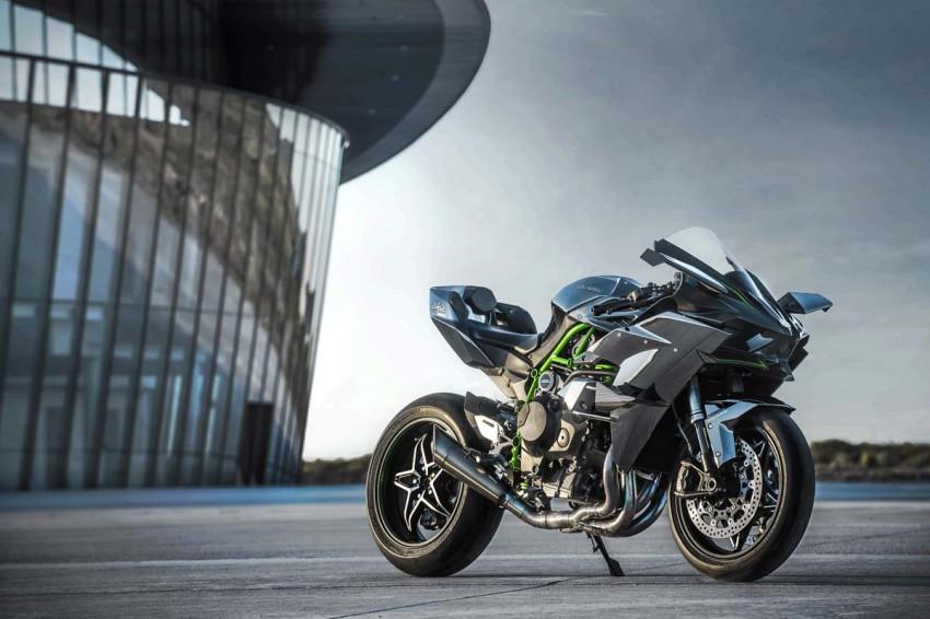 Kawasaki Ninja H2 Carbon 2017 chỉ có 120 chiếc trên toàn thế giới - 2