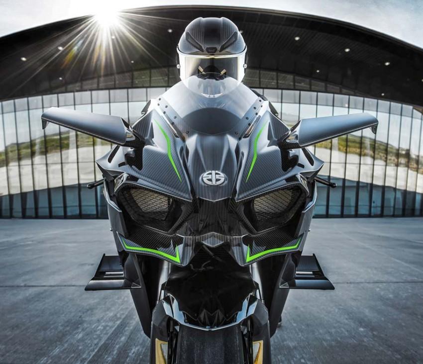 Kawasaki Ninja H2 Carbon 2017 chỉ có 120 chiếc trên toàn thế giới - 5