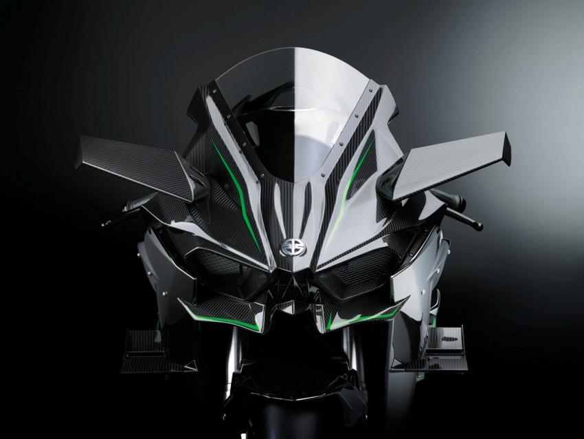 Kawasaki Ninja H2 Carbon 2017 chỉ có 120 chiếc trên toàn thế giới - 4